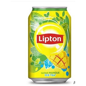 Ice tea mangue